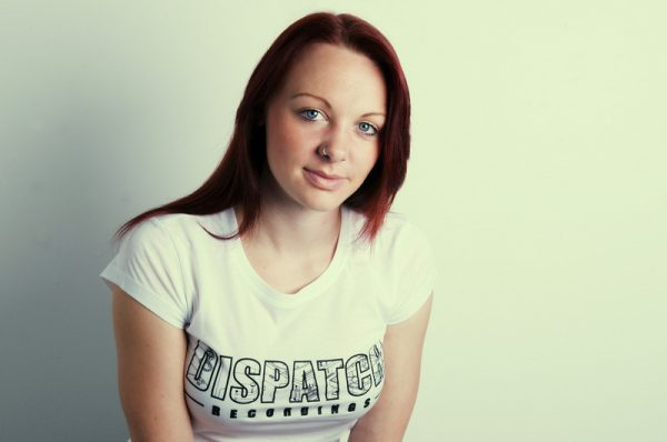 Dispatch girls t-shirt white.