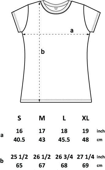Dispatch Recordings T-shirt Size Guide