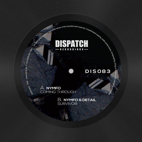 DIS083 - Nymfo / Nymfo & Detail , Coming Through / Survivor